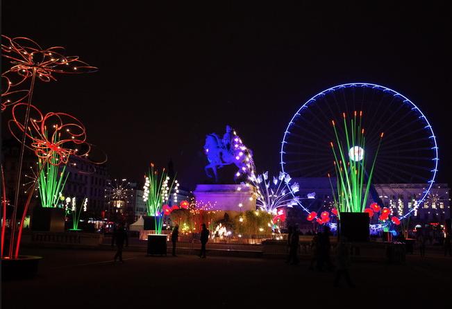 Lyon – Fête des lumières2017