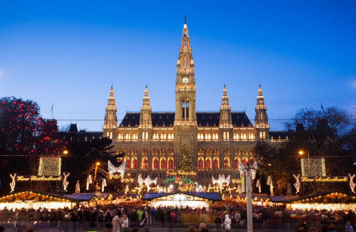 Vienne, comme parmagie